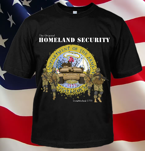 THE ORIGINAL HOMELAND SECURITY - ARMY