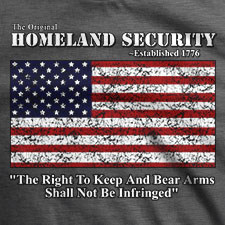 THE ORIGINAL HOMELAND SECURITY AMERICAN FLAG