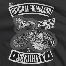 THE ORIGINAL HOMELAND SECURITY GADSDEN FLAG