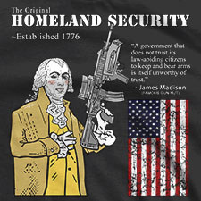 THE ORIGINAL HOMELAND SECURITY JAMES MADISON