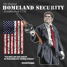 THE ORIGINAL HOMELAND SECURITY RONALD REAGAN