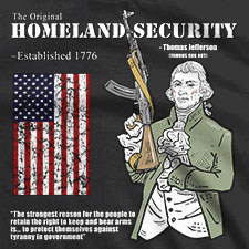 THE ORIGINAL HOMELAND SECURITY THOMAS JEFFERSON