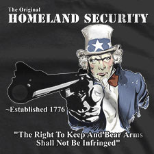 THE ORIGINAL HOMELAND SECURITY UNCLE SAM