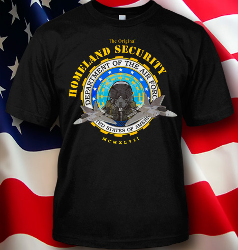 THE ORIGINAL HOMELAND SECURITY - AIR FORCE